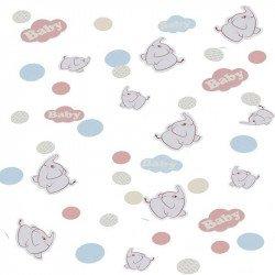 Confettis Elephant aux ballons -14gr