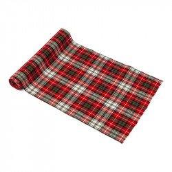 Chemin de table en tissu écossais