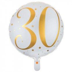 """Ballon Alu """"30 ans"""""""