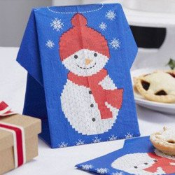 Serviettes formes Noël (x12)