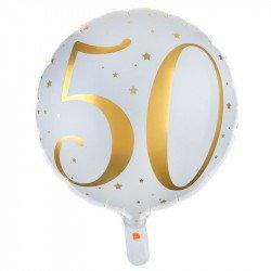 """Ballon Alu """"50 ans"""""""