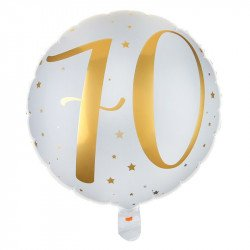 """Ballon Alu """"70 ans"""""""