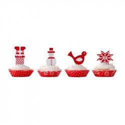 Moules à gâteaux Noël (x40)