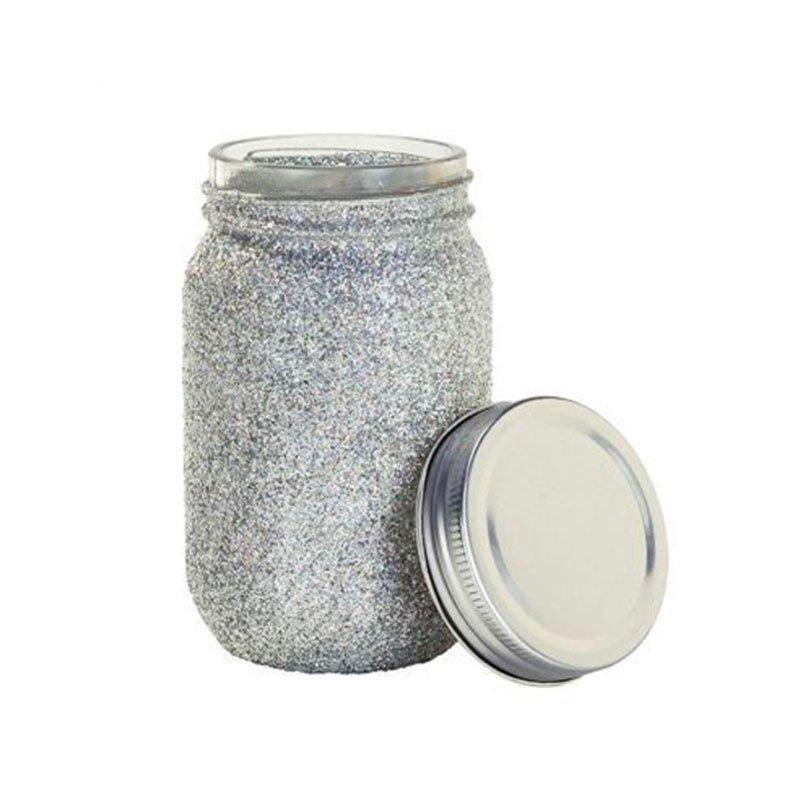 vase glitter - 1 unité