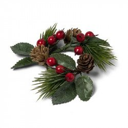 Mini couronne de Noël traditionnelle
