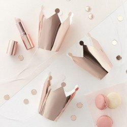 5 Couronnes rose gold