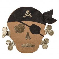 Serviettes Pirate (x16)