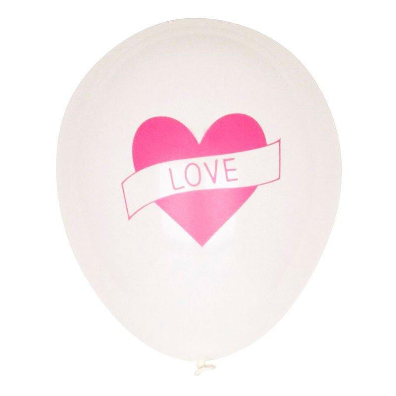 Ballons Love (x5)