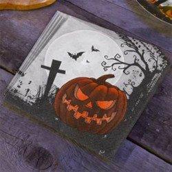 """20 serviettes Halloween """"Cimetière"""""""