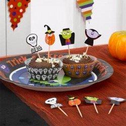 Pics à gâteau Halloween -20 unités