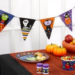 "Banderole Halloween ""Trick or Treat"""