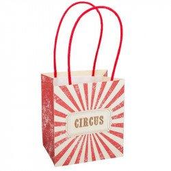 """Sacs Cadeaux Vintage """"Circus"""" (x4)"""