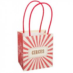 """Sacs Cadeaux """"Vintage Circus"""" (x4)"""