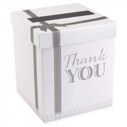 Boîte/urne cadeaux Vintage Merci