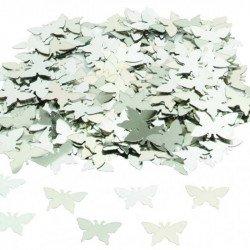 Confettis Papillon - Argent