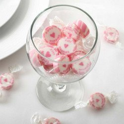 "Bonbons ""just married"" argent"
