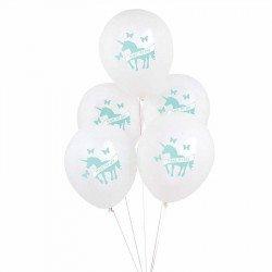 Ballons licorne (x5)