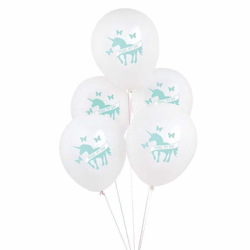 Ballons licorne -5 unités