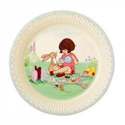8 assiettes Belle & Boo