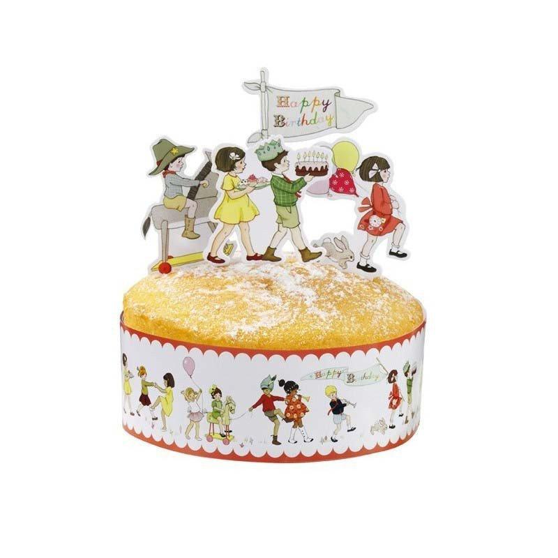 test altseoDécoration de gâteau Belle & Boo - à l'unitéDécoration anniversaire par thème