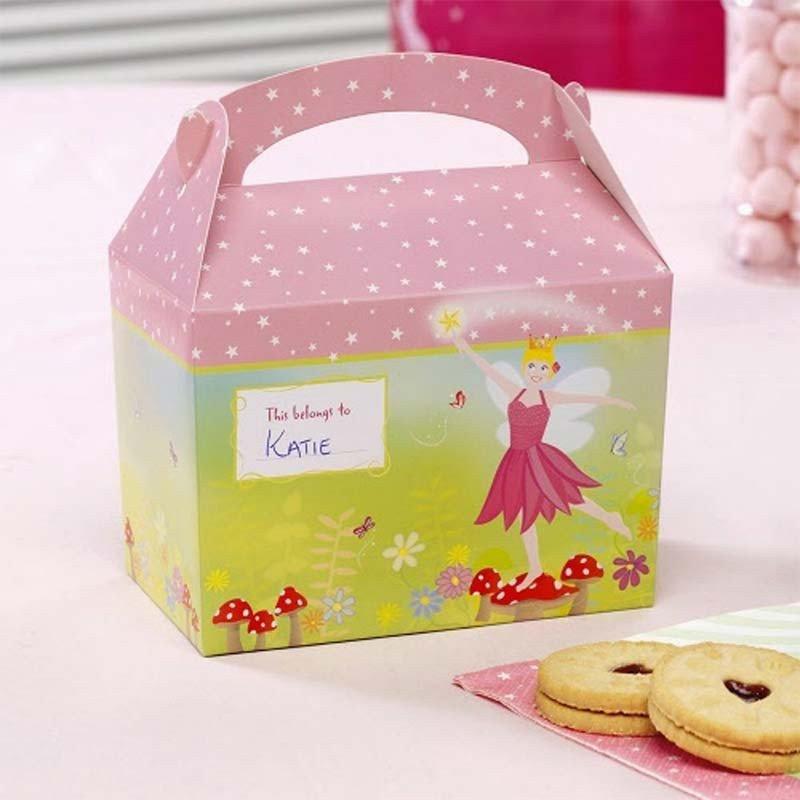 Boîte à gourmandises fée rose