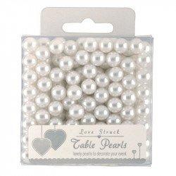 Perles décoratives - Blanc