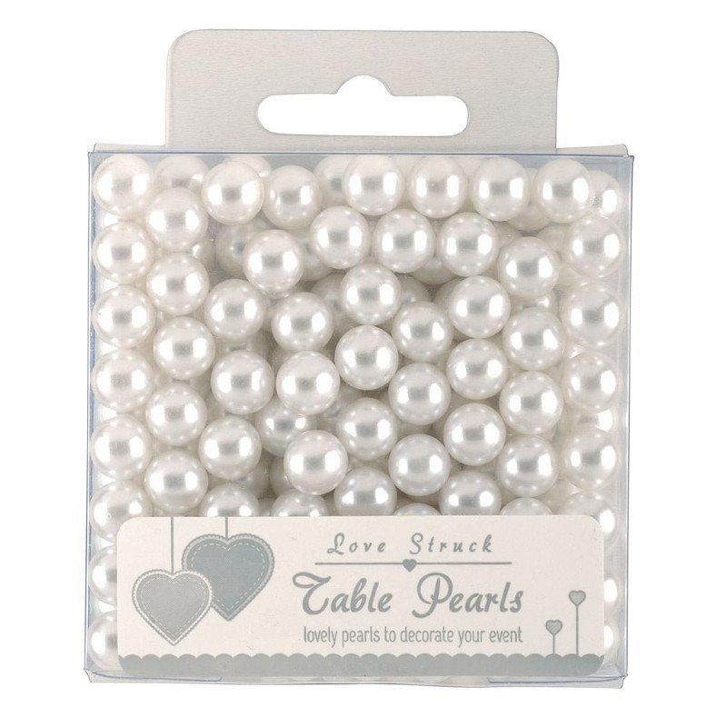Perles décorative couleur blanche
