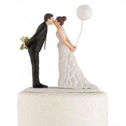 Figurine Les Mariés au Ballon