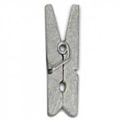 Pinces en bois (x12) - Argent