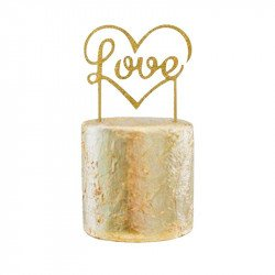 "Cake topper ""Love"" or"