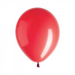 Ballons rouges (x10) - Rouge