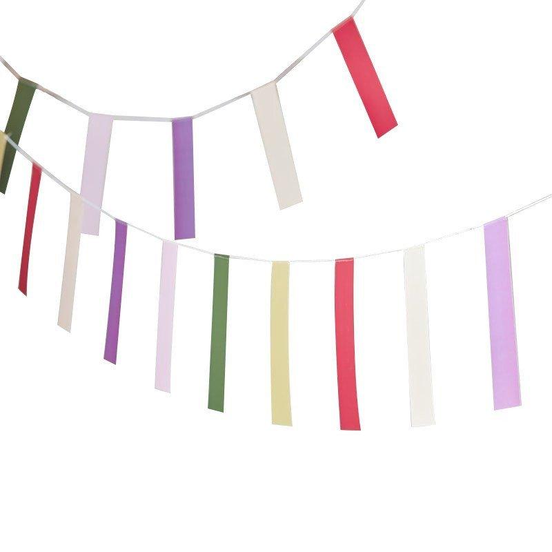 Banderole colorée
