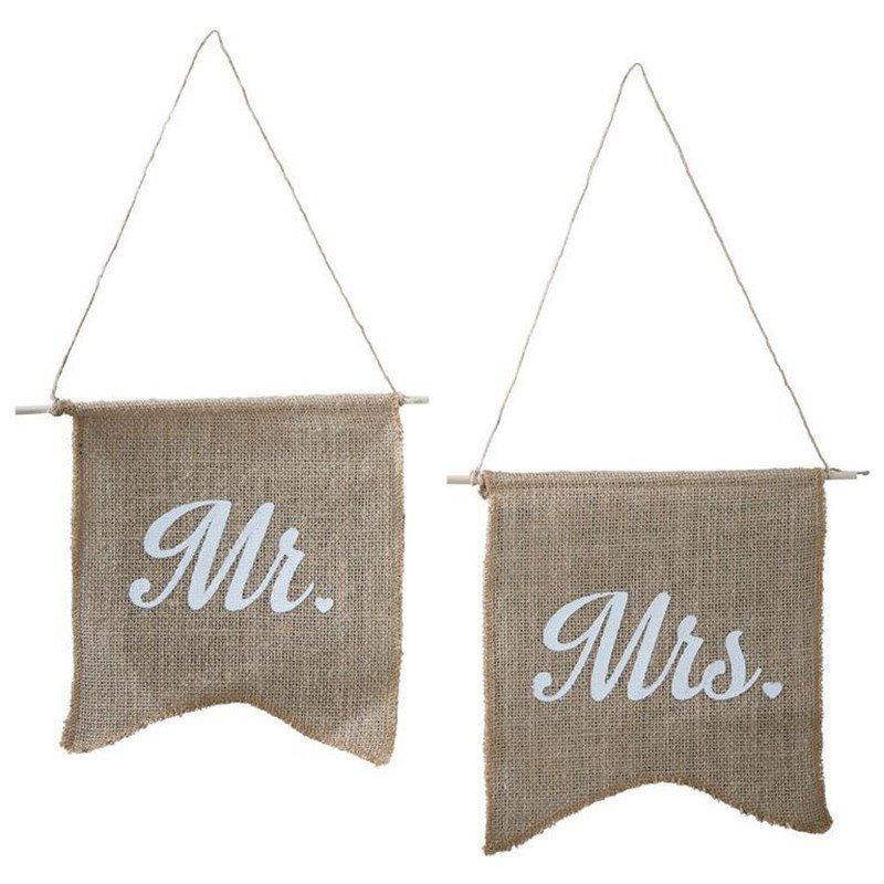 Drapeaux Mr & Mrs