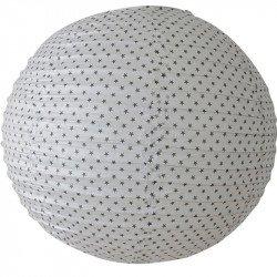 Lampion étoilé blanc