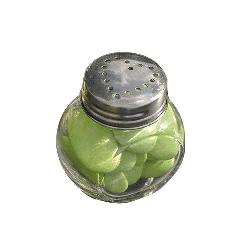 Petit pot rond en verre