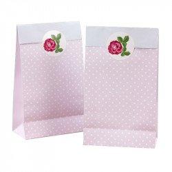Sacs à bonbons Rose Vintage (x5)