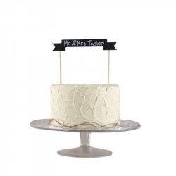 Décoration pour gâteau vintage