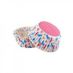 Moule à cupcake  petit pieds (x100)