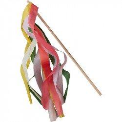 Baguettes rubans pastels (x10)