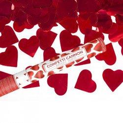 Canon à confettis Coeurs