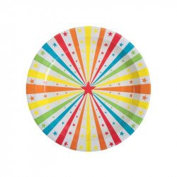 Assiettes Cirque (x10)