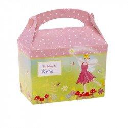 Boîtes à gourmandises Fée Rose (x8)