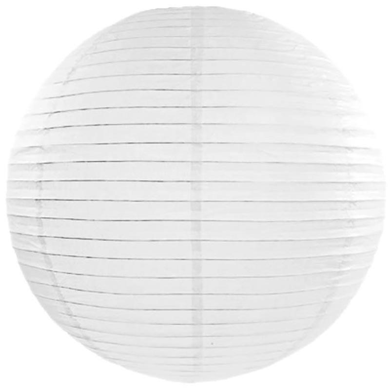 Lampion en papier blanc