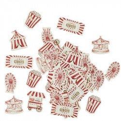 "Confettis ""Vintage Circus"" (x100)"