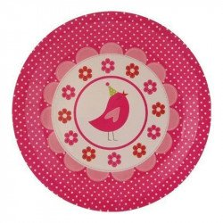 Assiettes Little Bird (x8)
