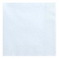 Serviettes Pastel (x20) - Bleu ciel