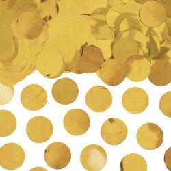 Confettis rond irisé