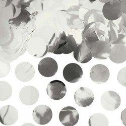 Confettis Ronds métalliques - Argent