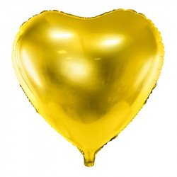 Ballon mylar Coeur - Or