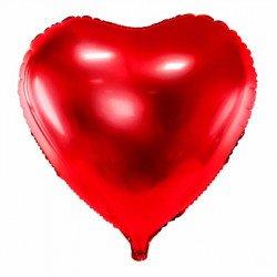Ballon mylar Coeur - Rouge